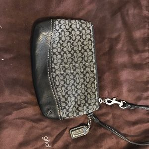 Authentic Coach wristlet. Never been carried!